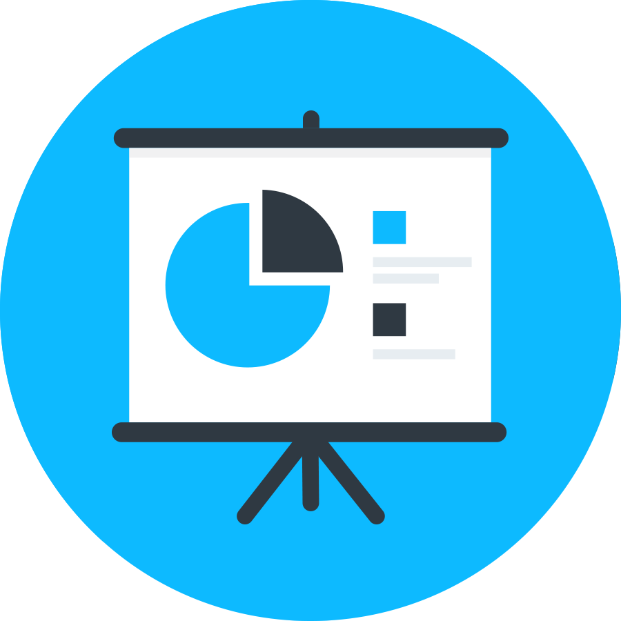 analytics and analysis icon